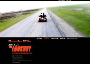 THE LOOKOUT - Miramax / Spyglass Ent.