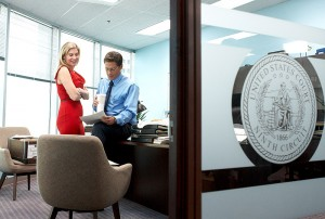 Rob Lowe, Elizabeth Mitchell - IMPERFECT JUSTICE - Lifetime Television / Fox Television Studios