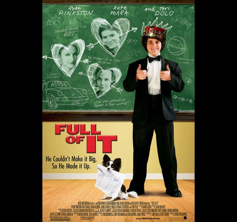 FULL OF IT - New Line Cinema / Atmosphere Ent. - Theatrical Poster
