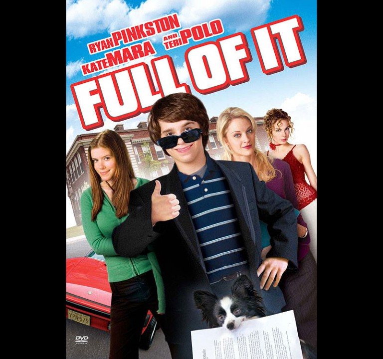 FULL OF IT - New Line Cinema / Atmosphere Ent. - DVD Cover